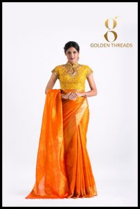 golden threat dressess