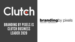Branding by Pixels is Clutch Leader 2020