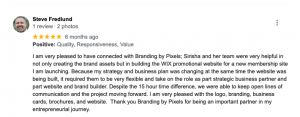 Branding by Pixels Review by Steve