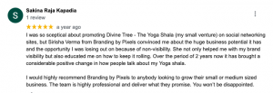 Branding by Pixels Review by Sakina